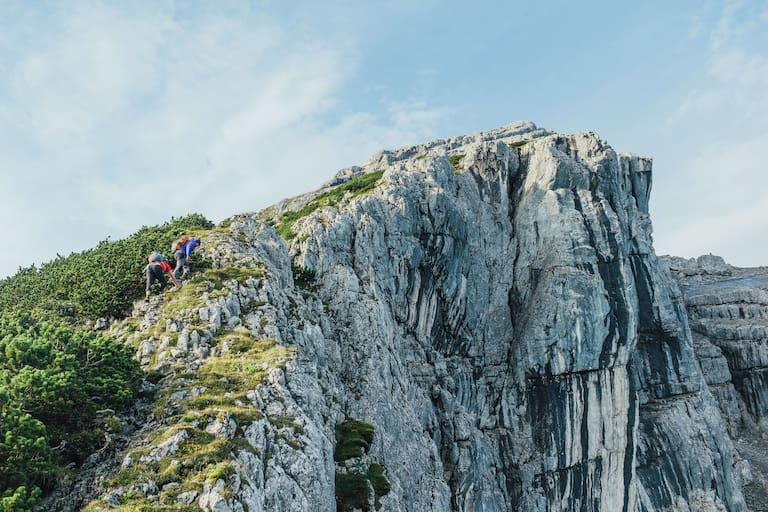 Auf den Gipfel des Kleinen Watzmanns in Bayern