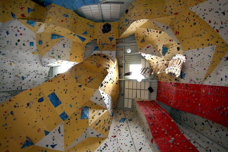 Die Kletterhalle Pfalz Rock ist gleichzeitig auch Landesleistungsstützpunkt.