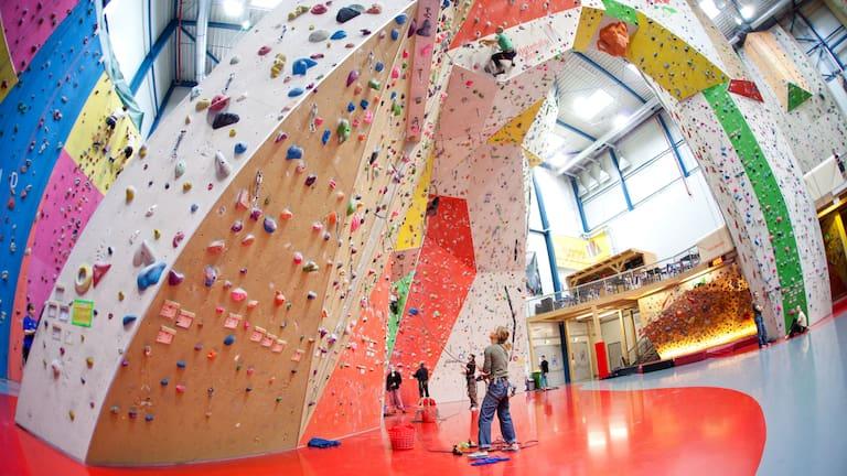 Kletterhalle Wien: Sportklettern in der Halle