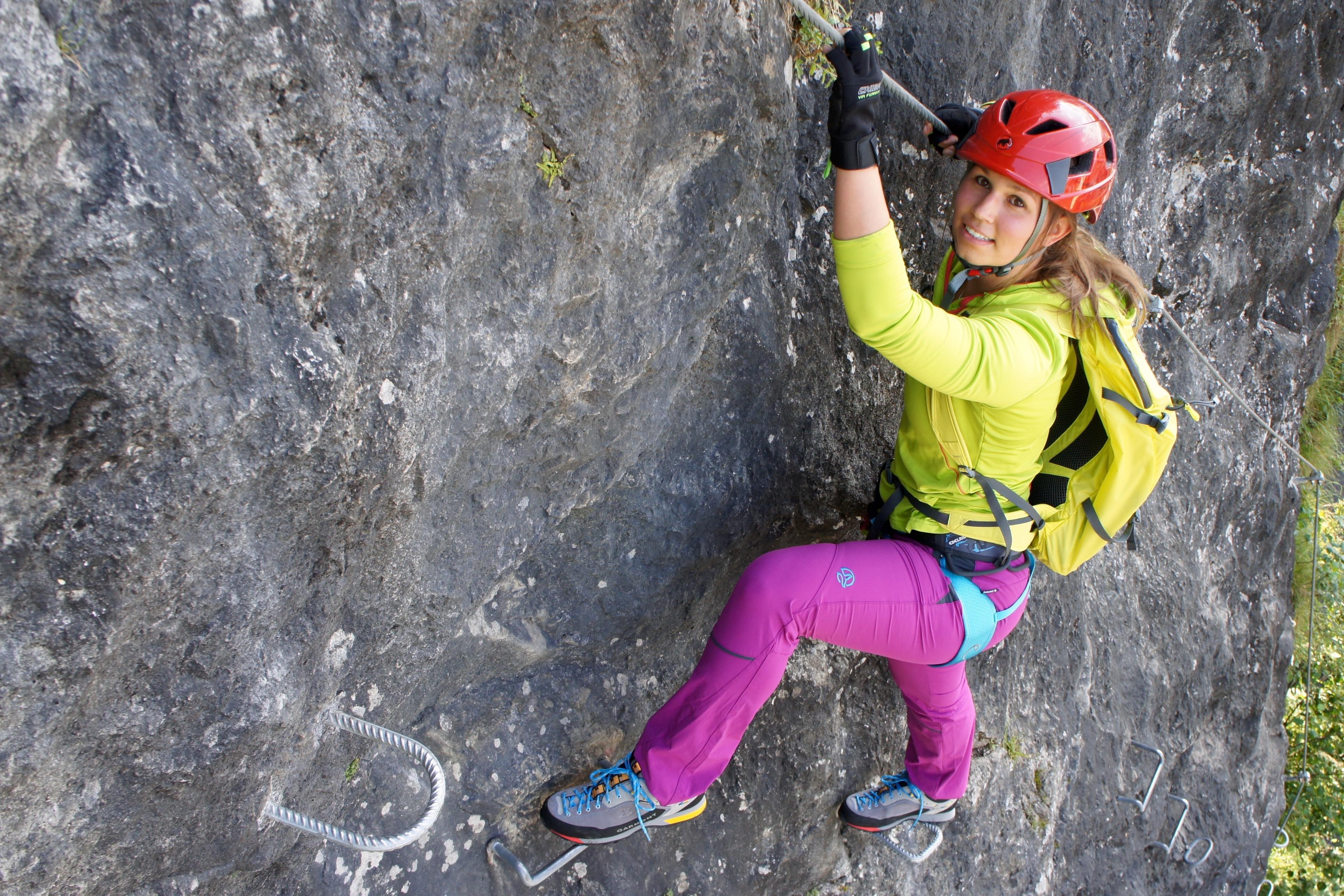 Klettersteig Weibl : Dinge für den klettersteig bergwelten