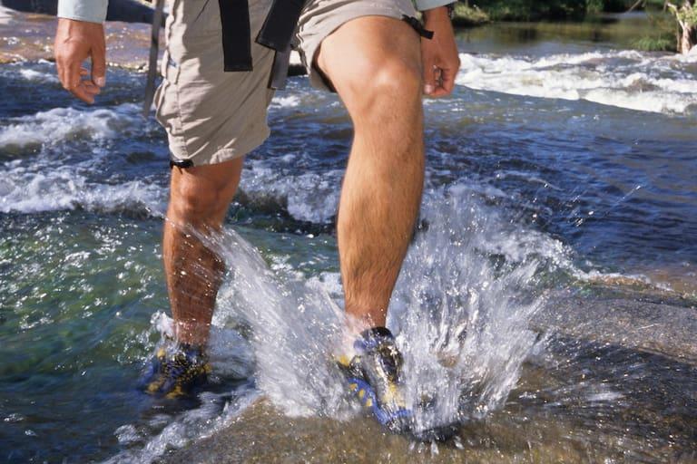 Wandern mit Knieschmerzen