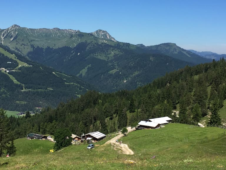 Köglalm im Rofangebirge in Tirol