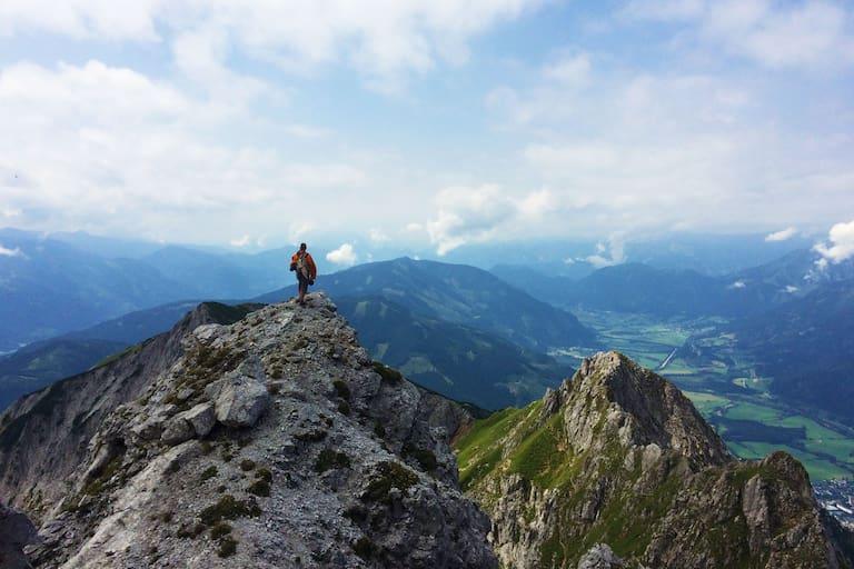 Drei-Gipfel-Tour im Gesäuse: Über den Kreuzkogel auf Riffel und Kalbling