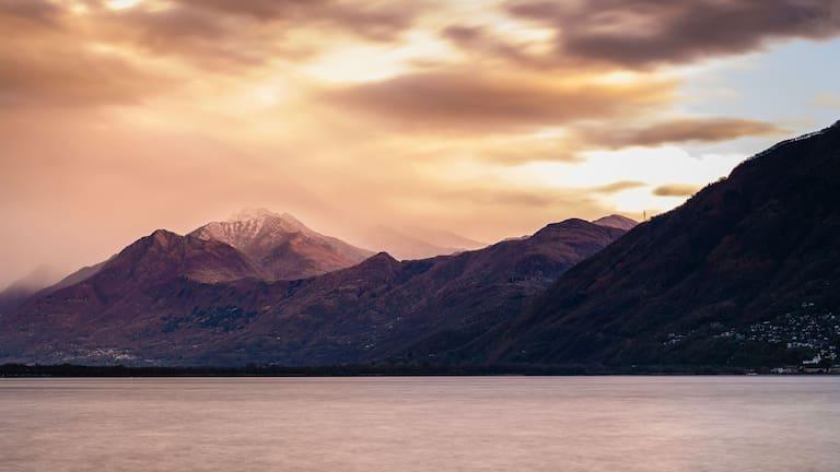 Der Lago Maggiore im Tessin