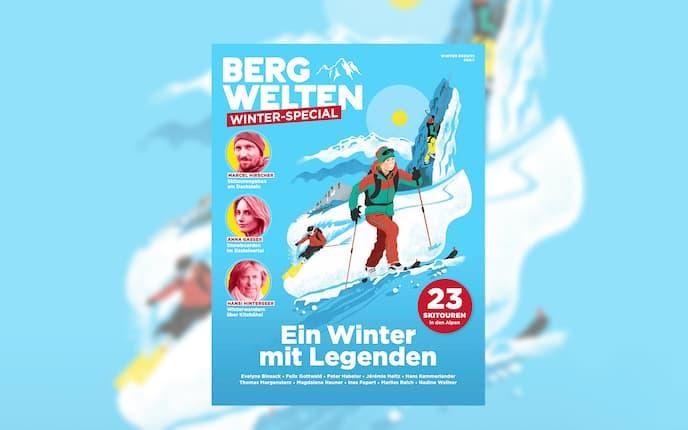 Bergwelten Klettersteig Winter - Special 2020 Cover