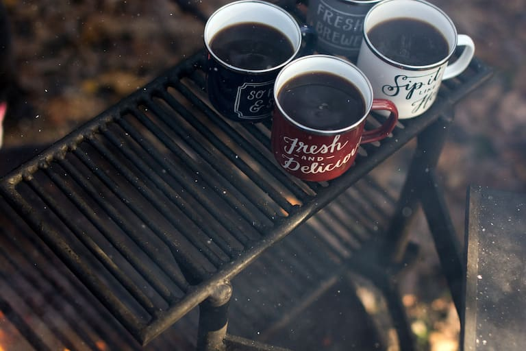 Outdoor-Kaffee