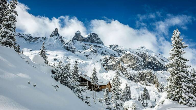 Die Lindauer Hütte im Rätikon in Vorarlberg