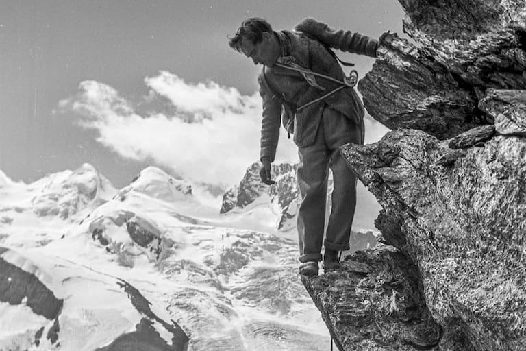 """Luis Trenker in """"Der Berg ruft"""""""