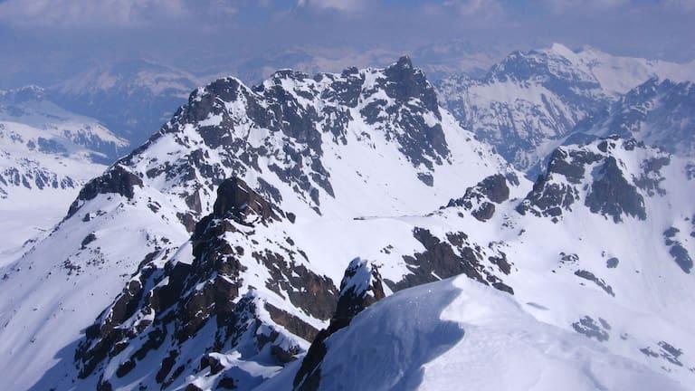 Rätikon in Graubünden: Blick vom Madrisahorn