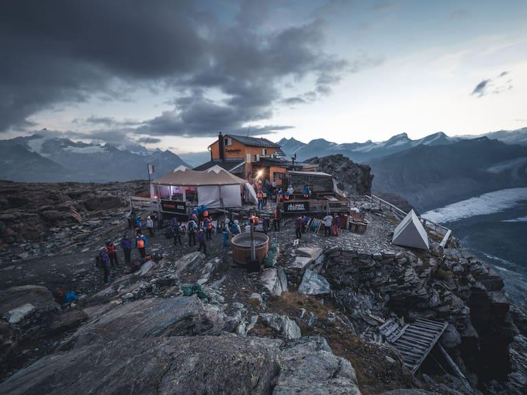 Beim Mammut Alpine Festival im Reich der 4.000er