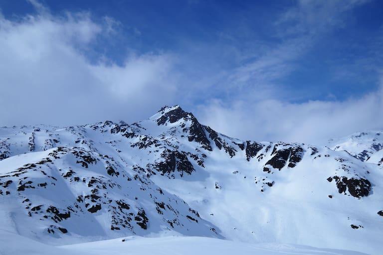 Schweiz: Bergpanorama in Graubünden