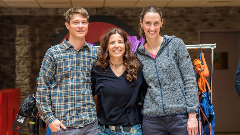 Die 3 Gewinner von Eiger Extreme: Chris Miller, Corina Haas und Sonngrit Böhme