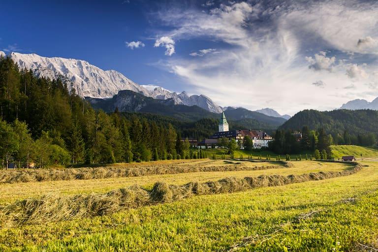 Schloss Elmau Wettersteingebirge Bayern