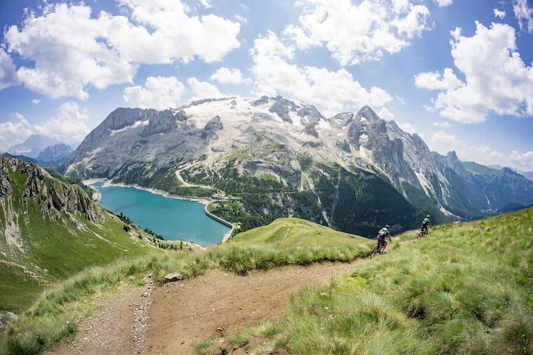 Dolomiten Trails Mountainbiken