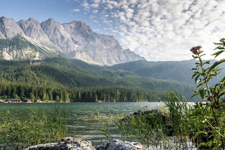 Zugspitze Eibsee Bayern