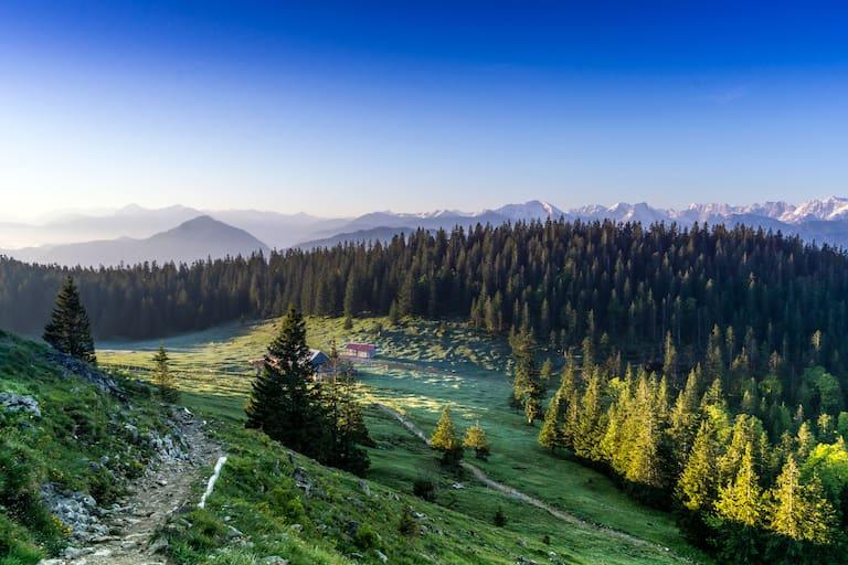 Jocheralm in den Bayerischen Alpen