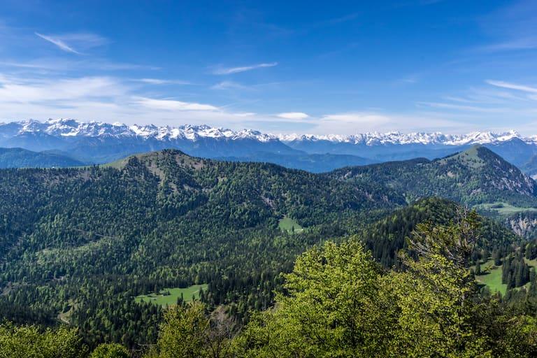 Benediktenwand Karwendelgebirge Bayern