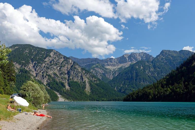 Plansee Ammergauer Alpen