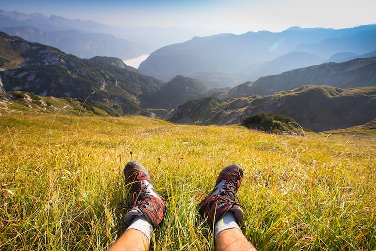 Wandern Blasen Tipps