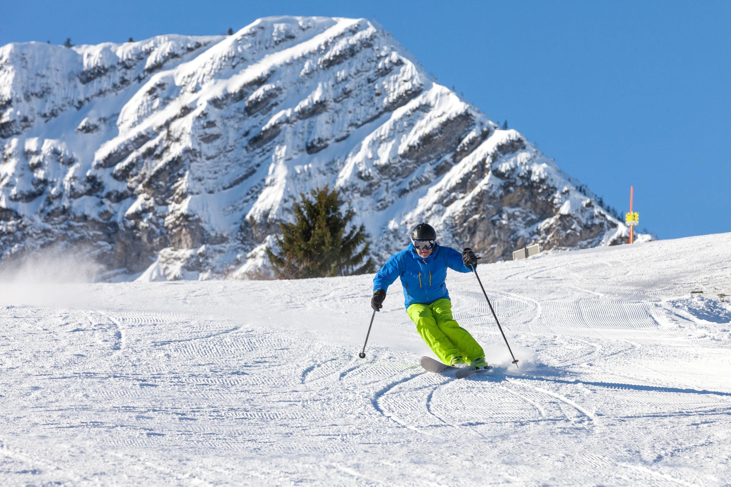 Richtig carven tipps vom tiroler skilehrer video bergwelten