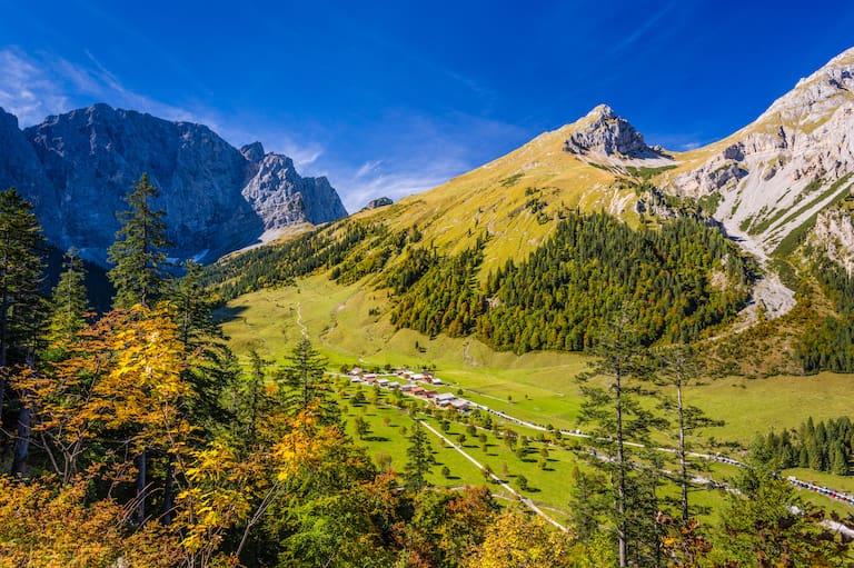 Naturpark Karwendel Tirol Engalm