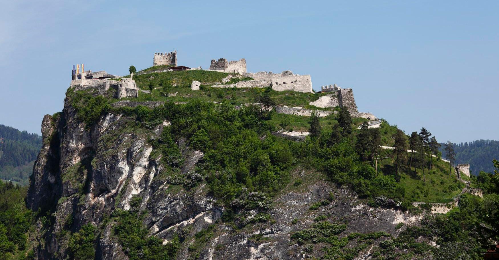 Klettersteig Griffen : Klettersteig auf den schlossberg griffen e bergwelten