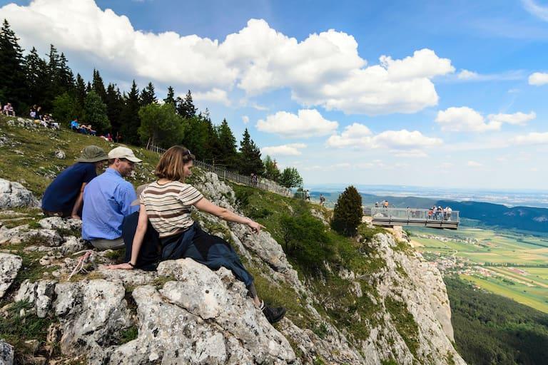 Steigerlhüpfen Hohe Wand