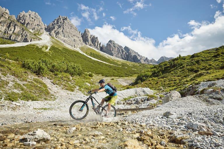 Mountainbiken Tirol Stubaier Alpen