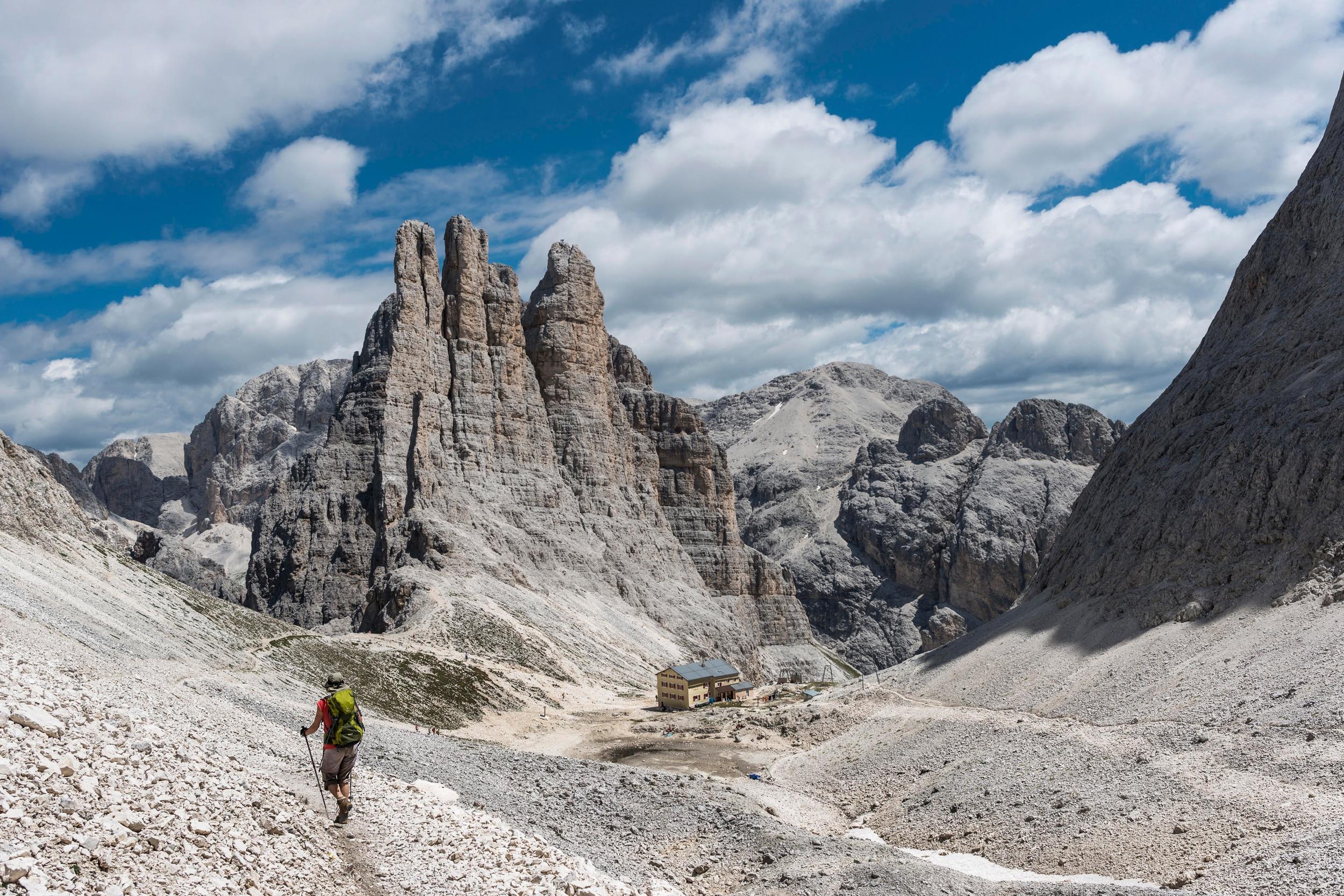 Klettersteig Rosengarten : Terrex mountain project: der schauplatz bergwelten