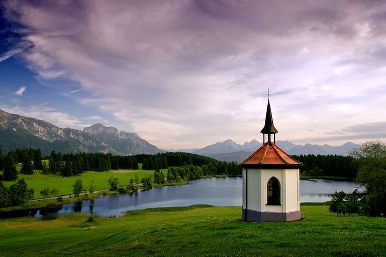 Kapelle im Alpenvorland