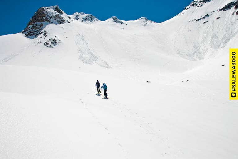 Skitourengeher Großglockner
