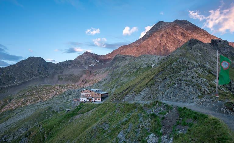 Habicht Innsbrucker Hütte
