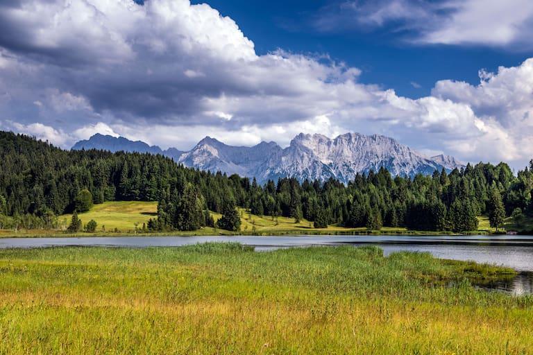Geroldsee im Karwendelgebirge