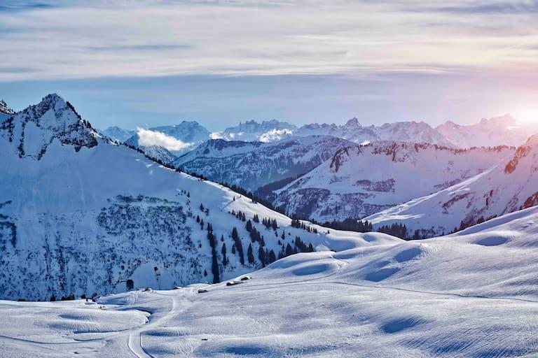 Blick über das Große Walsertal