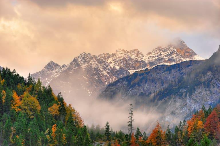 Herbst Karwendel