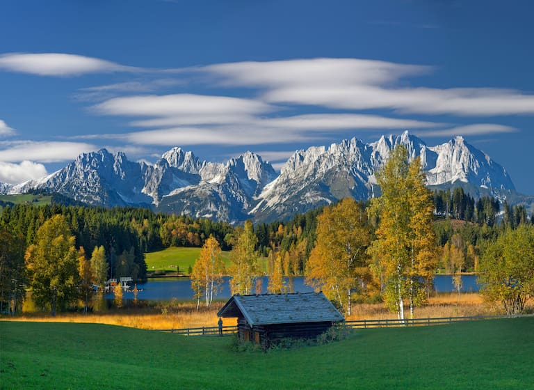 Kaisergebirge in Tirol