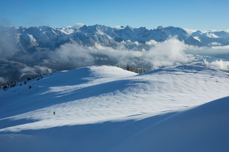 Blick aufs Karwendel