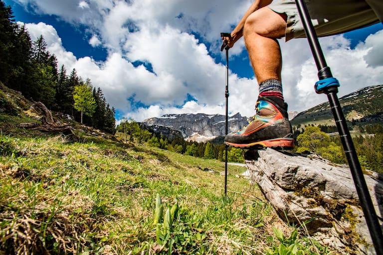 Wandern Knieprobleme