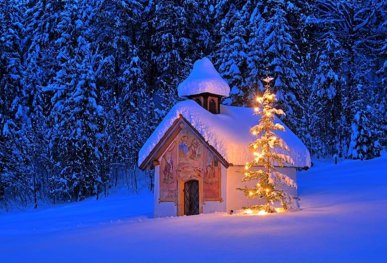 Weiße Weihnachten: In manchen Regionen könnte dieser Wunsch in Erfüllung gehen