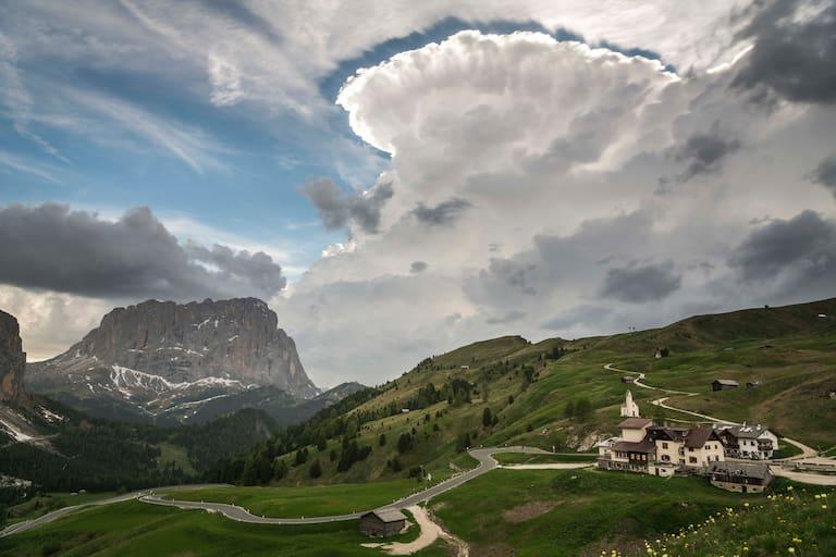 Grödner Joch, Dolomiten