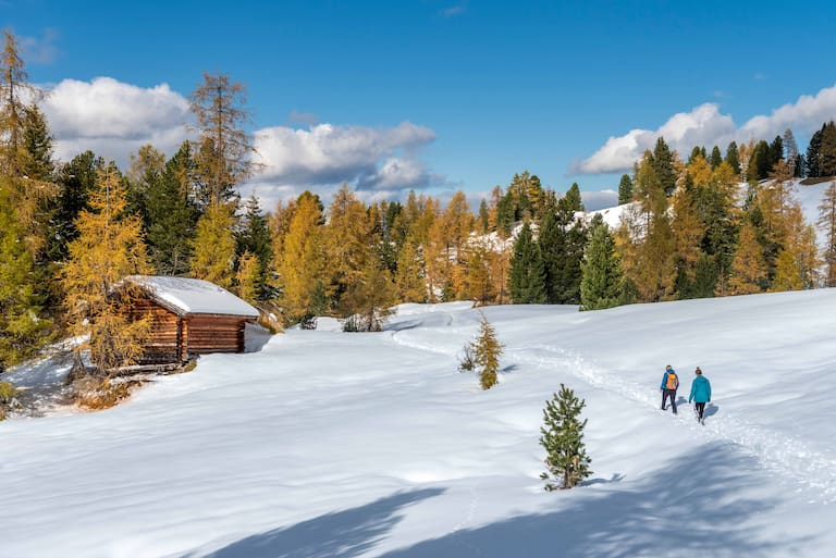 Winterwandern in den Südtiroler Dolomiten, Alta Badia