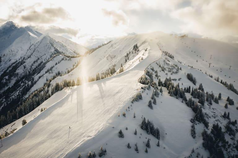 Die Ski-Saison ist größtenteils vorbei, doch auch der Frühling kommt an diesem Wochenende nicht so richtig in Schwung