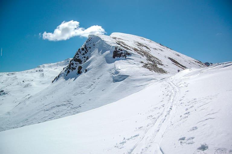 Vor allem am Sonntag scheint in den Bergen verbreitet einige Stunden die Sonne – Skitouren bieten sich an