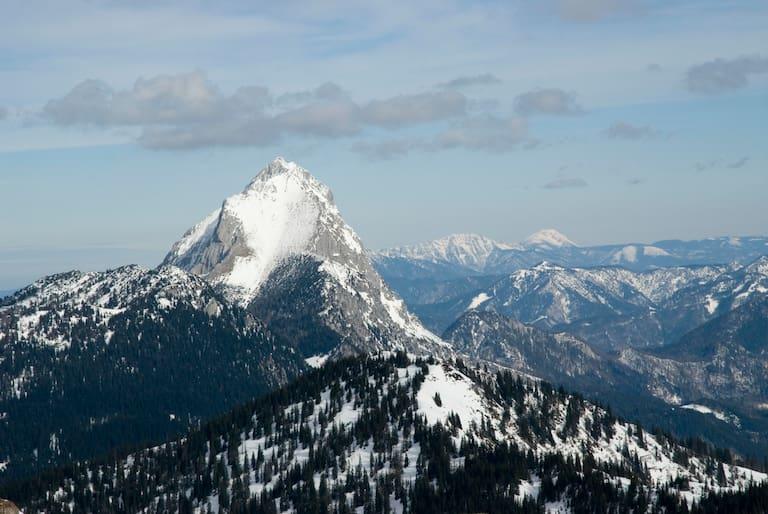 """Der Gipfel des Lugauer: Das """"Steirische Matterhorn"""""""