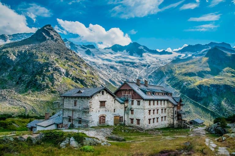 Berliner Hütte in den Zillertaler Alpen