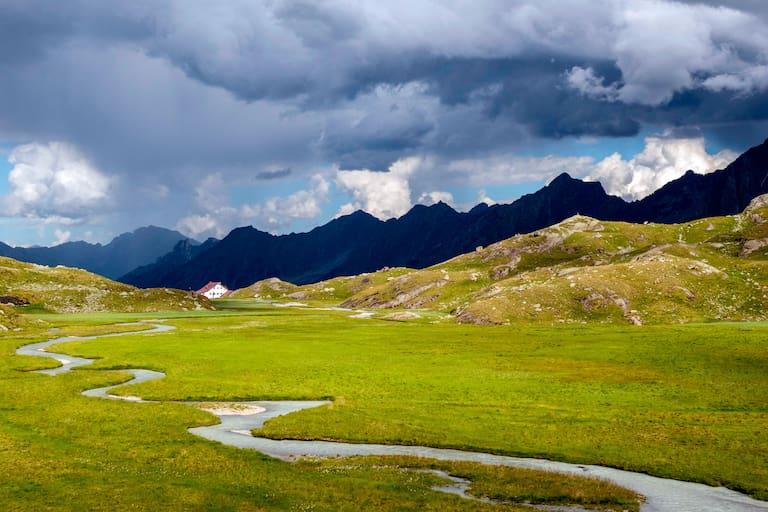 Stubaier Alpen in Tirol