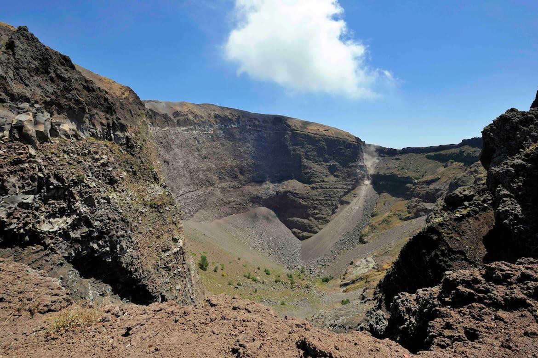 Der berühmteste Vulkan Europas befindet sich im Nationalpark Vesuv.