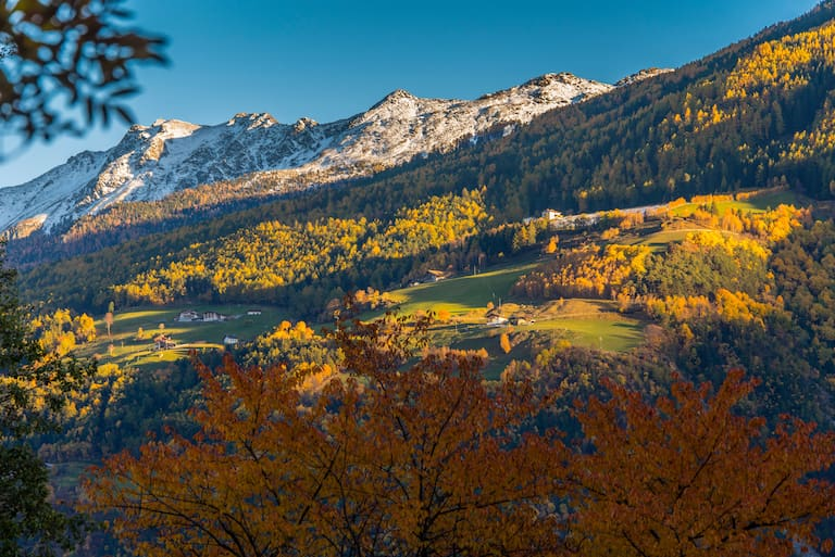 Italien, Südtirol, Vinschgau, Sonnenberg, Waalweg