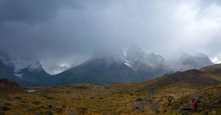 Regen am Berg
