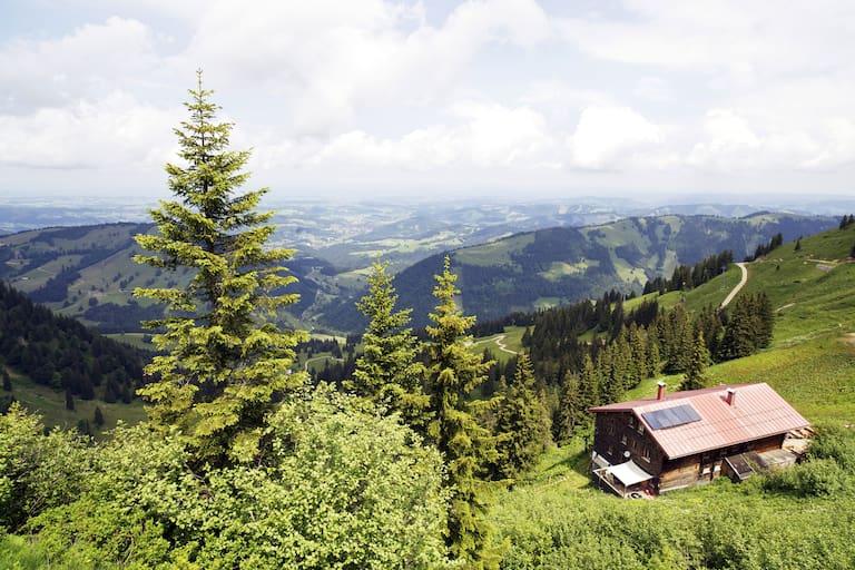 Beliebter Stützpunkt in den Allgäuer Alpen: Das Staufner Haus
